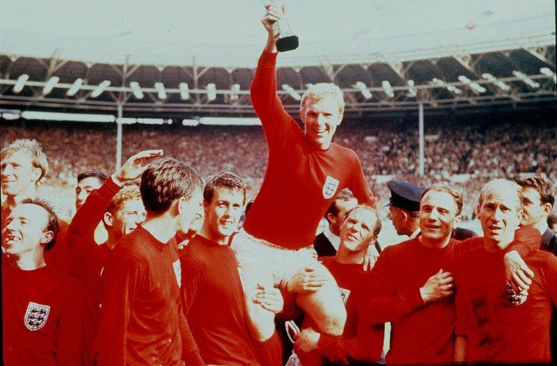 World Cup 1966 là giải đấu lớn gần nhất và duy nhất đến nay tuyển Anh vô địch. Ảnh: AP