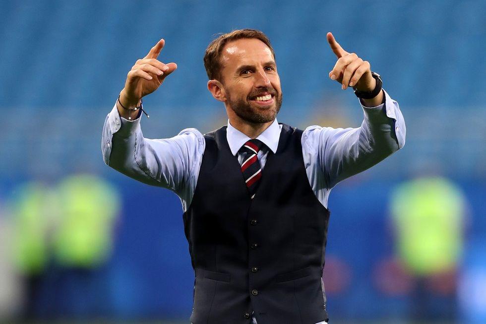 Southgate muốn các học trò bước vào trận đấu tại Wembley trong tâm trọng thoải mái nhất có thể. Ảnh: FA