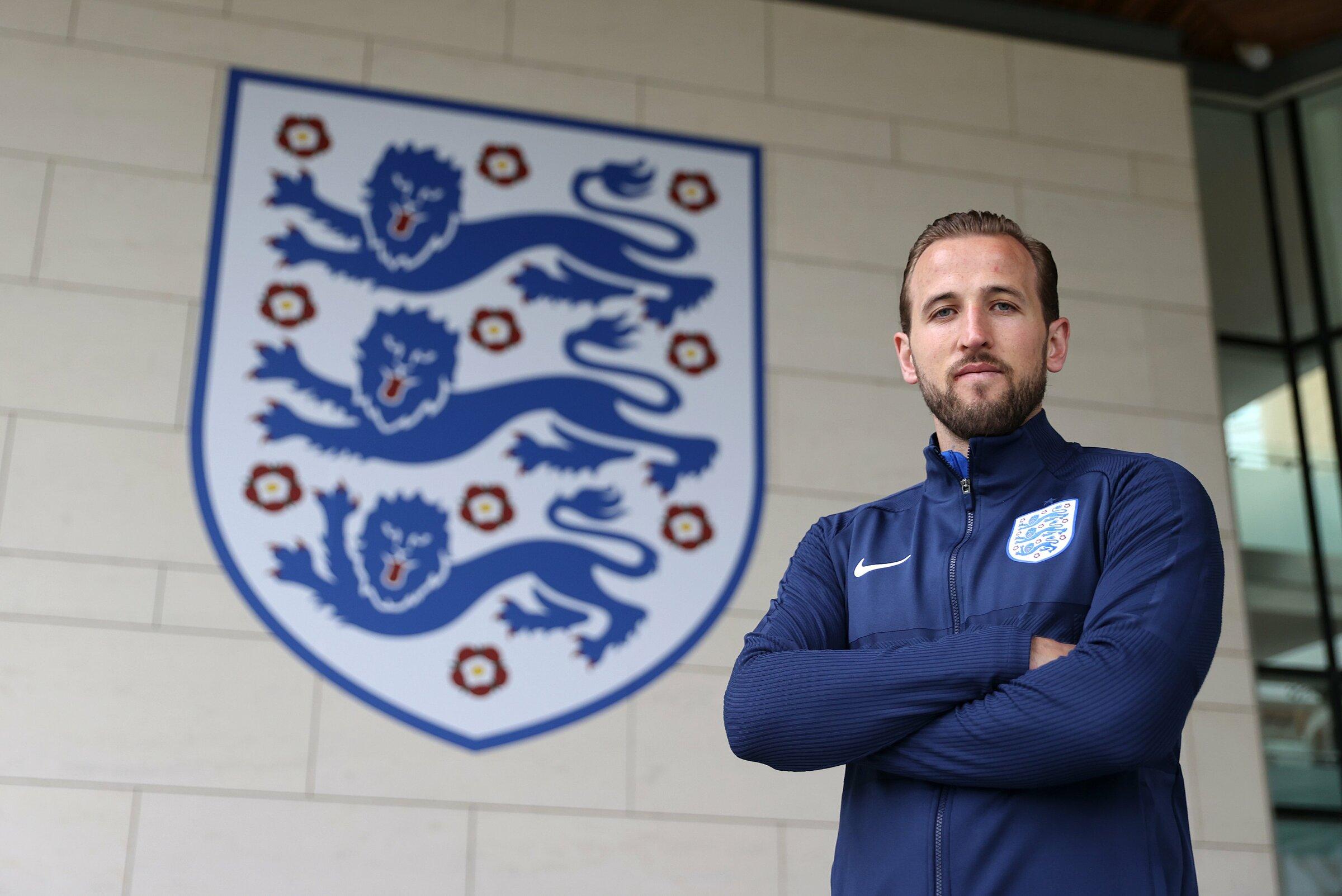 Euro 2021 adalah turnamen besar kedua dalam karir Kane bersama Inggris ke semifinal, setelah Piala Dunia 2018 di Rusia, di mana The Three Lions finis ketiga.  Foto: FA