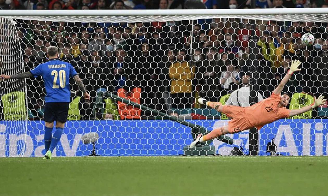 Rahasia memenangkan adu penalti tim Euro 2021 adalah memilih untuk menendang terlebih dahulu.  Foto: UEFA