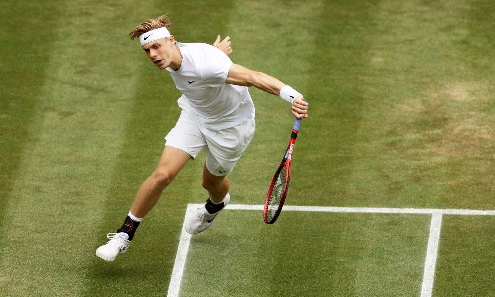 Shapovalov đã thắng hai trận 5 set tại Wimbledon năm nay. Ảnh: ATP
