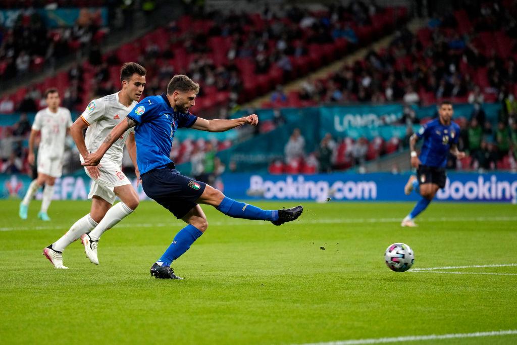 อิตาลีประสบความสำเร็จในยูโร 2021 ด้วยเกมที่มีความกดดันสูง  รูปถ่าย: FIGC