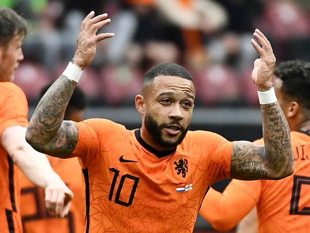 Depay đã ghi 133 bàn trong 355 trận cấp CLB và 28 bàn trong 68 trận cho đội tuyển. Ảnh: Reuters.