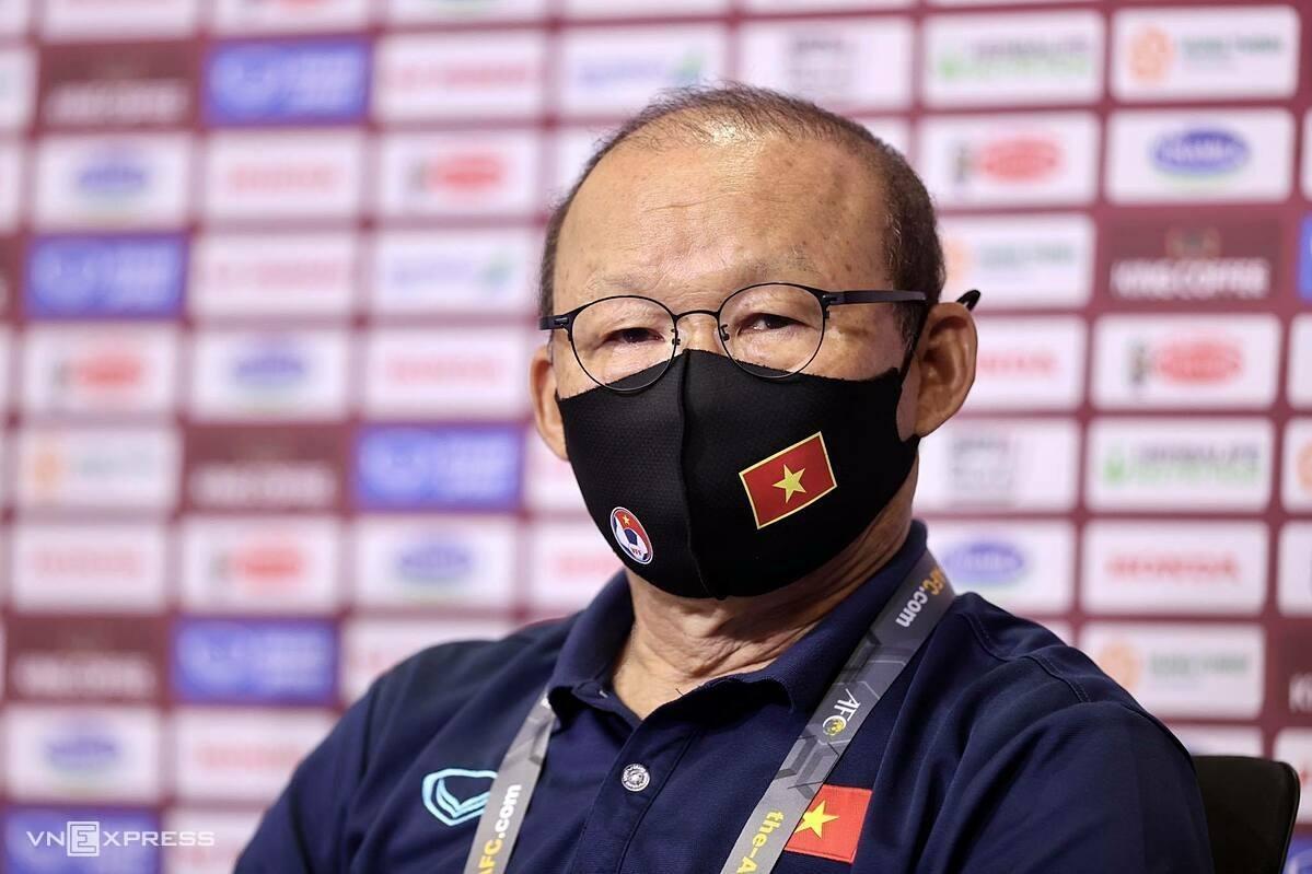 Các trợ lý sẽ thay HLV Park Hang-seo tiếp tục chuẩn bị cho vòng loại thứ ba World Cup 2022 - khu vực châu Á.