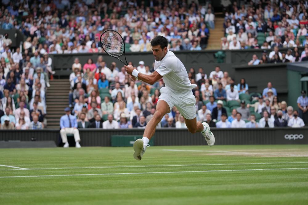 Djokovic cứu 91% số break-point trong trận. Ảnh: A