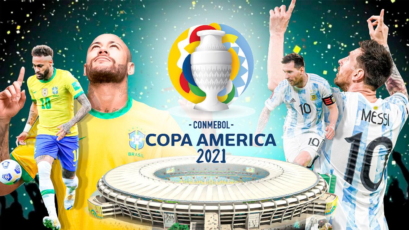 Sự hiện diện của Neymar, Messi, Brazil và Argentina biến trận chung kết Copa America 2021 thành tâm điểm chú ý một ngày trước chung kết Euro 2021. Ảnh: Marca