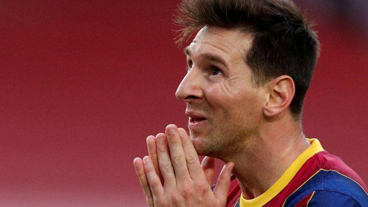 Messi memang menjadi beban bagi Barca yang mengalami krisis finansial.  Foto: Reuters.