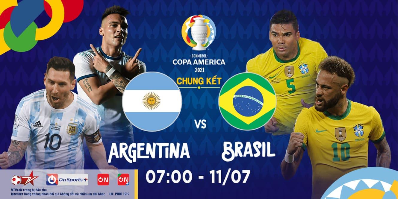 Argentina - Brazil: Chung kết cứu vãn cả Copa America 2021 - 5