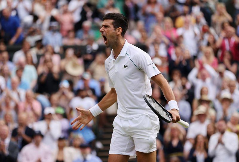 Djokovic chỉ thua một trong tám trận chung kết Grand Slam gần nhất góp mặt. Ảnh: Wimbledon