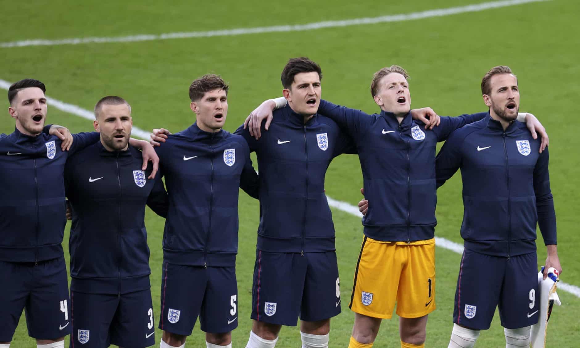 Các tuyển Anh đứng trước cơ hộ đoạt danh hiệu lớn nhất sự nghiệp khi cùng Tam Sư đấu Italy hôm nay. Ảnh: AP