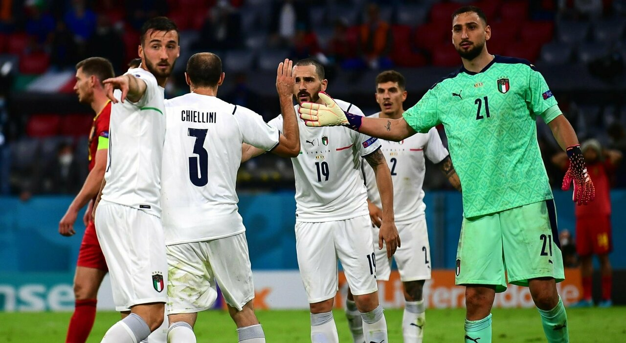 Pertahanan dengan Chiellini, Bonucci dan Donnarumma masih menjadi tumpuan yang kokoh bagi Italia.  Foto: ANSA