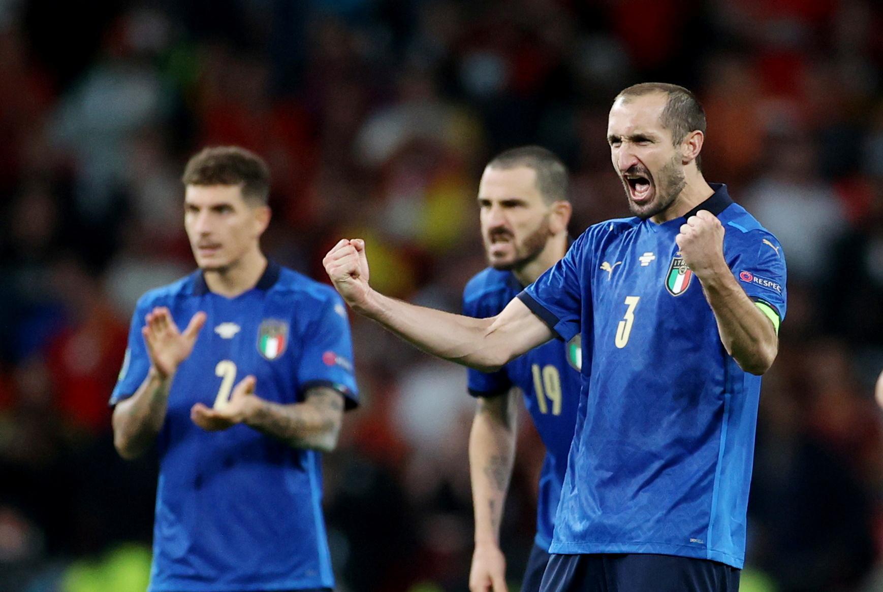 Chiellini: Đội dự bị cũng có thể đưa Anh vào chung kết - 1