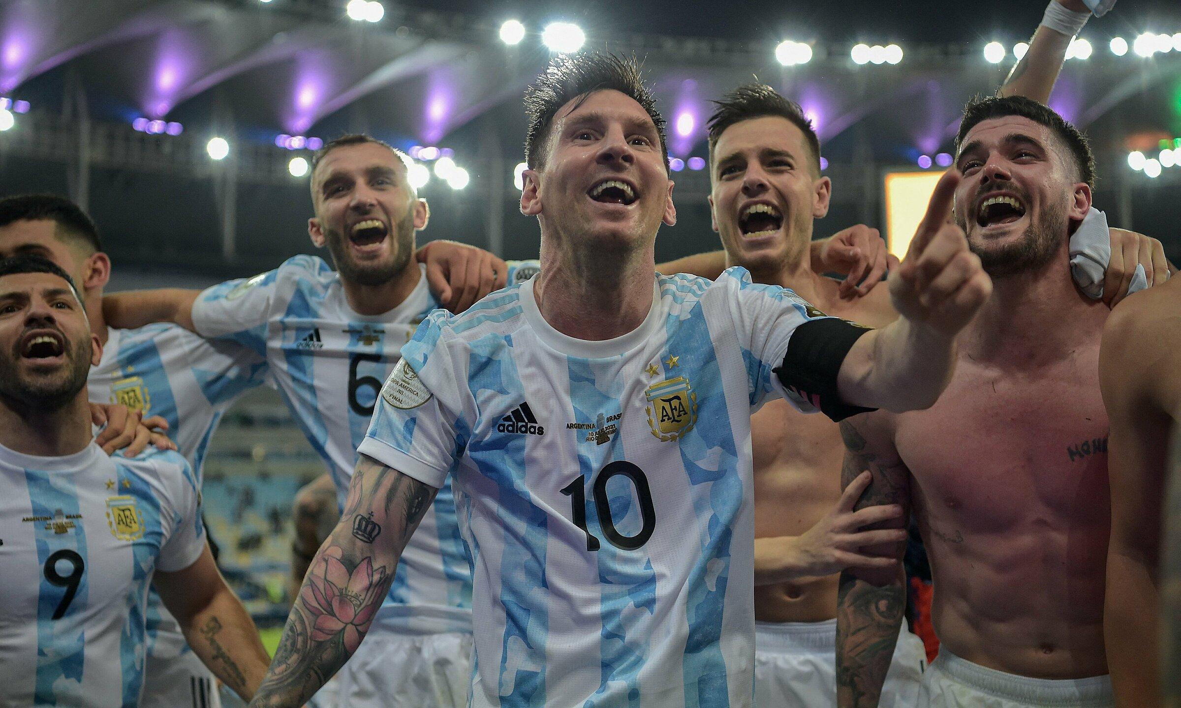 Messi memenangkan Copa America dengan penghargaan pencetak gol terbanyak.  Foto: CA2021