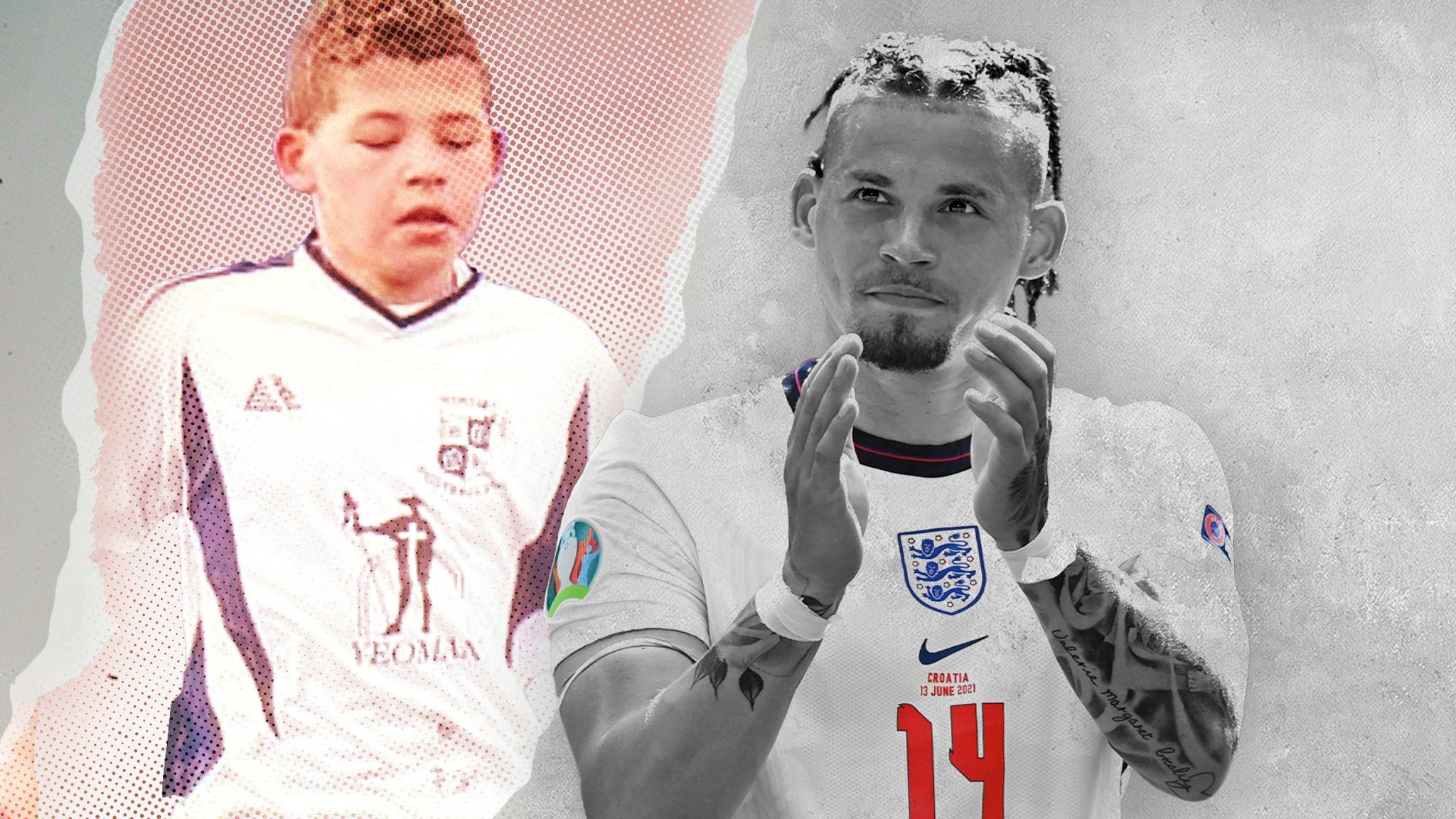 Philipps tiến một bước dài từ cậu bé có hoàn cảnh khó khăn ở Wortley đến vị thế trụ cột không thể thay thế của tuyển Anh hiện tại. Ảnh: Sky Sports