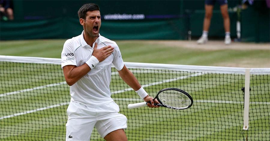 Djokovci dalam perjalanannya menjadi pemain tenis terbaik dalam sejarah.  Foto: Wimbledon