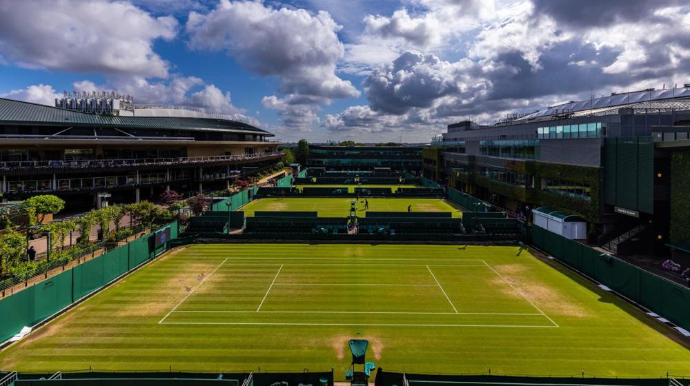 Wimbledon là một trong những giải đấu quần vợt danh giá của thế giới.