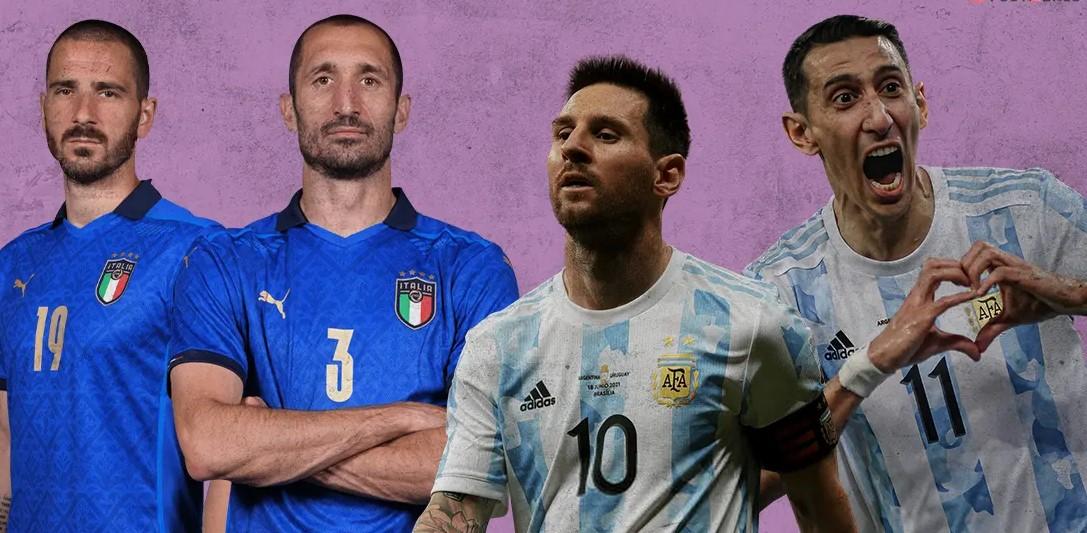 Laga spesial antara Argentina dan Italia belum ditentukan.  Foto: Gol