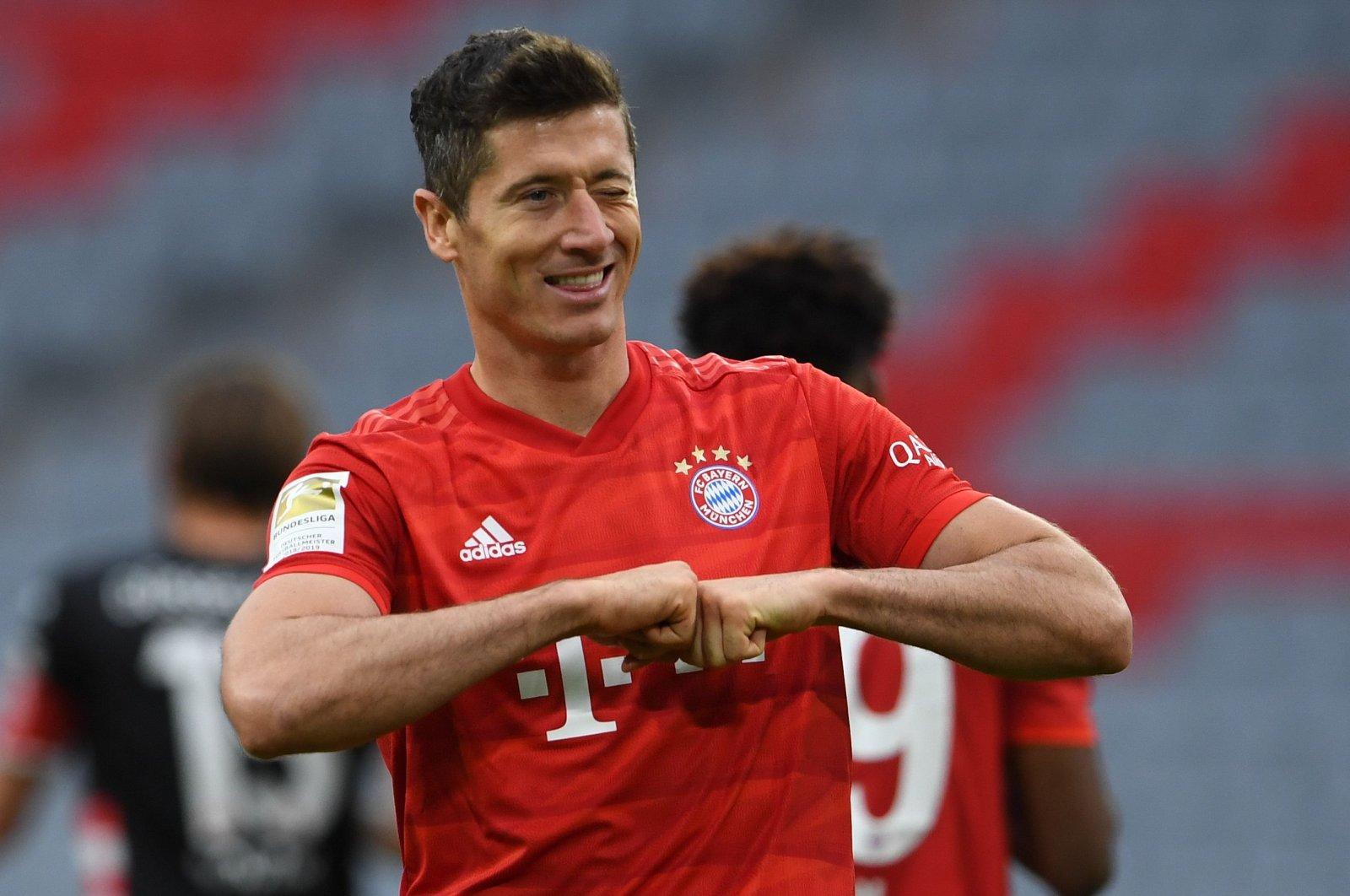 Ở tuổi 33, đã chinh phục mọi danh hiệu ở cấp CLB và chỉ còn hai năm hợp đồng, Lewandowski có thể muốn rời Bayern để tìm kiếm thử thách mới trong chặng cuối sự nghiệp đỉnh cao. Ảnh: AFP