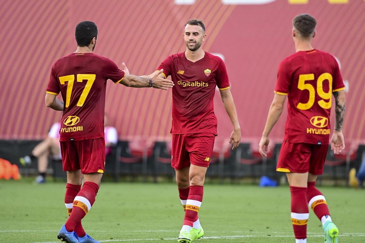 Roma akan memainkan pertandingan persahabatan berikutnya pada 18 Juli, melawan tim Serie C Ternana.  Foto: Twitter