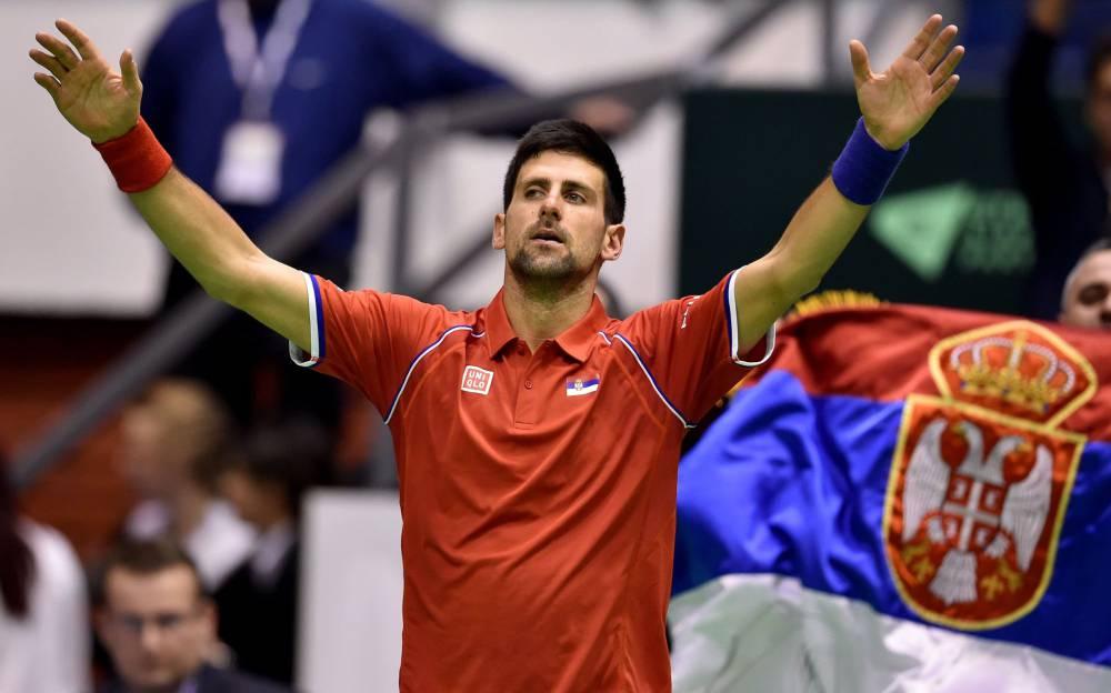 Djokovic đã đoạt ba Grand Slam liên tiếp trong nửa đầu mùa 2021. Ảnh: Tennishead