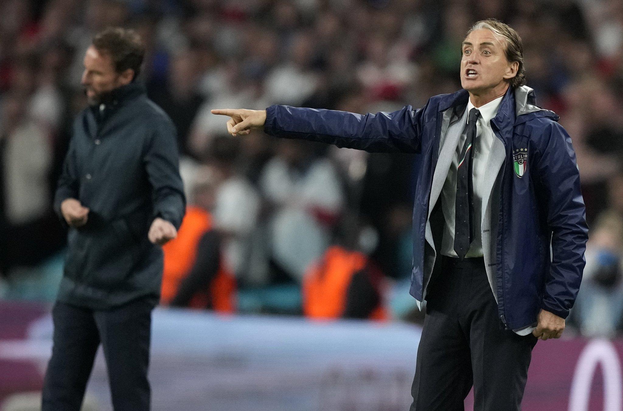 Mancini sẽ có một tháng nghỉ ngơi trước khi bắt tay vào chiến dịch mới hứa hẹn cam go và nhiều thử thách không kém. Ảnh: FIGC