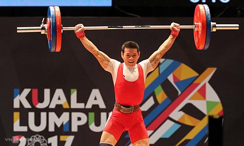 Thach Kim Tuan adalah harapan besar olahraga Vietnam di Olimpiade Tokyo, selama ia mendapatkan kembali performanya sebelum Covid-19.  Foto: Pham Duong
