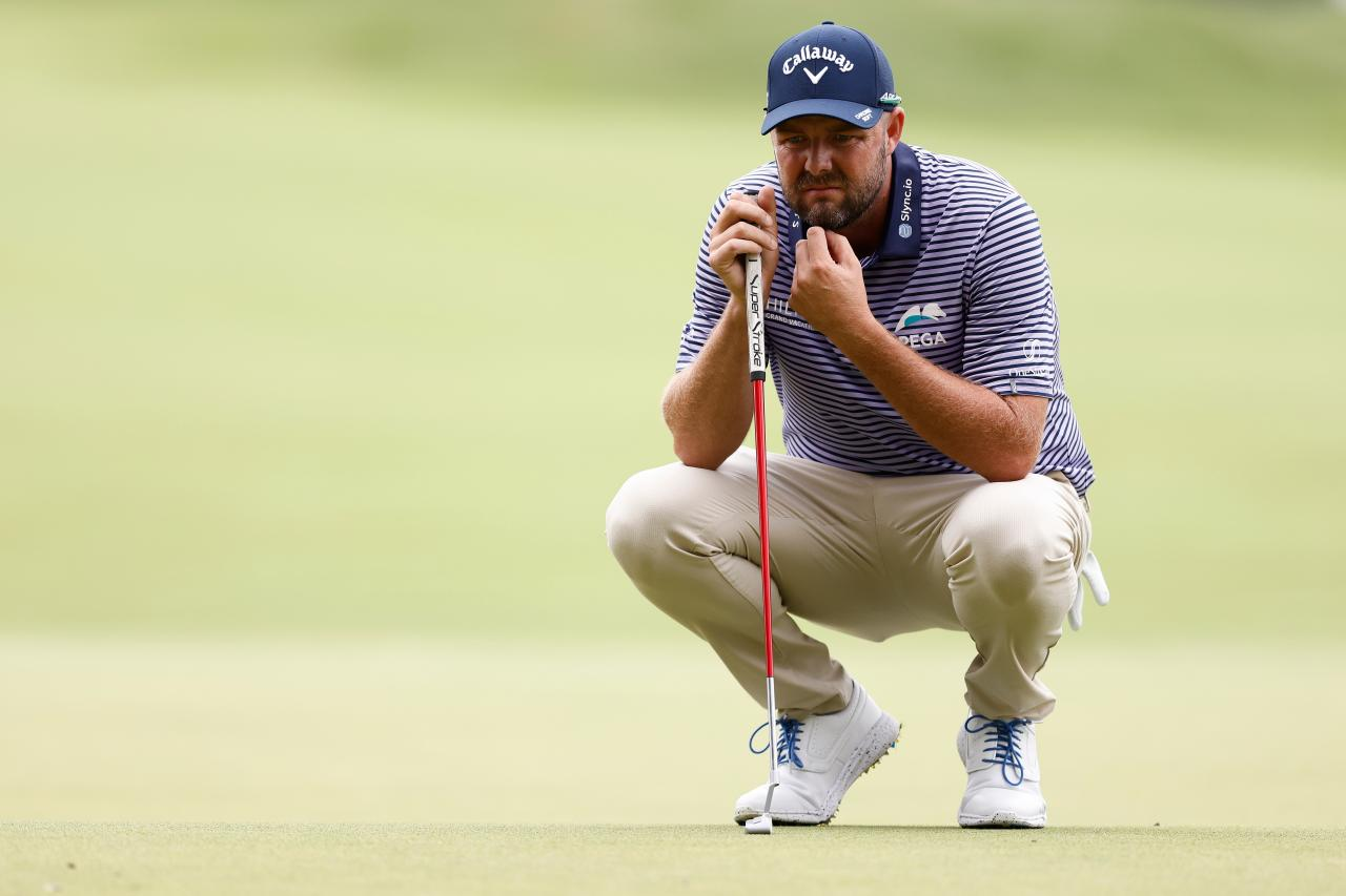 Leishman admitted to being impatient because of the poor putter in the second round.  Photo: Golf Digest