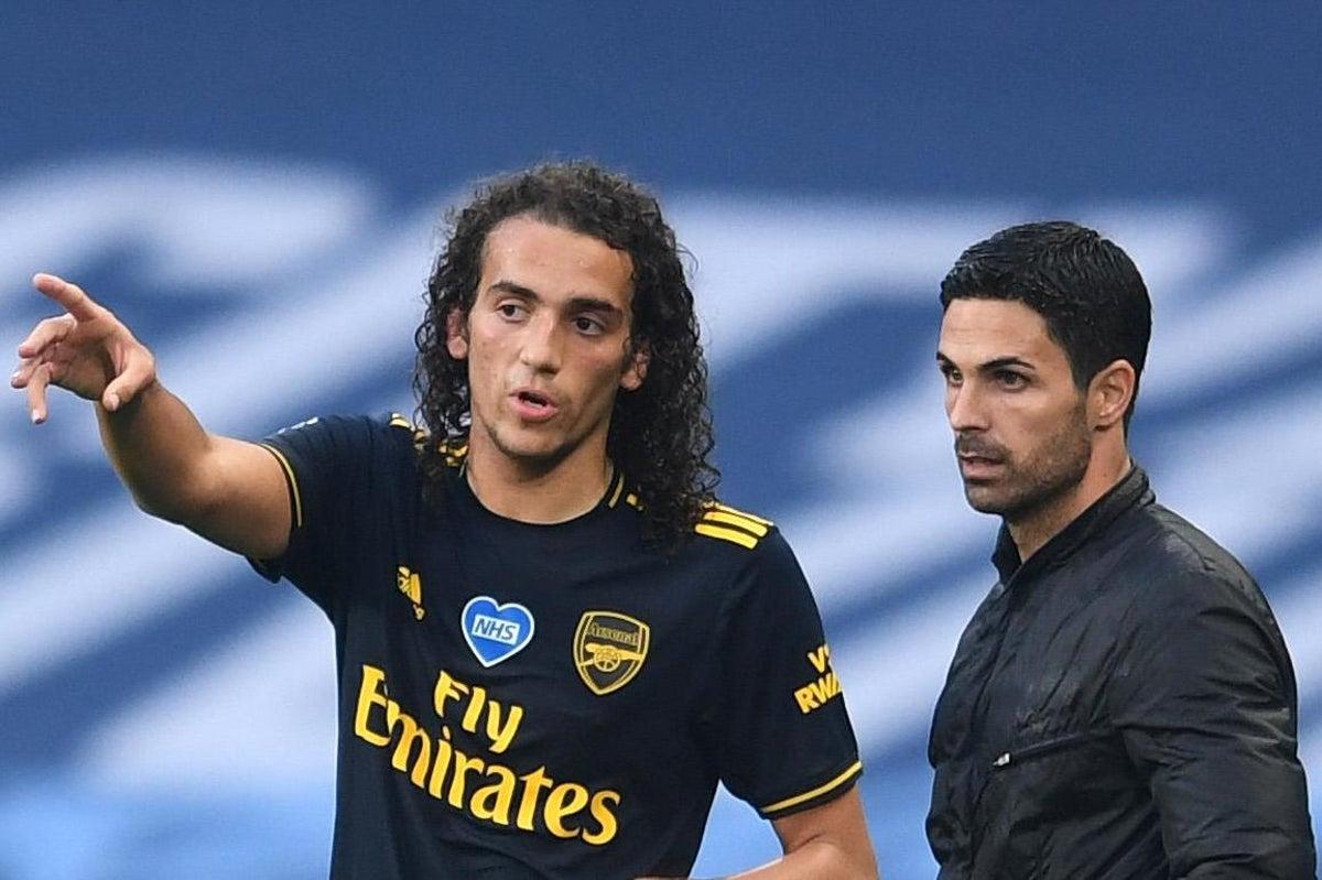 """ความขัดแย้งกับ Arteta ทำให้ Guendouzi ไม่ได้อยู่ที่ Arsenal อีกต่อไป  ภาพถ่าย: """"PA ."""""""
