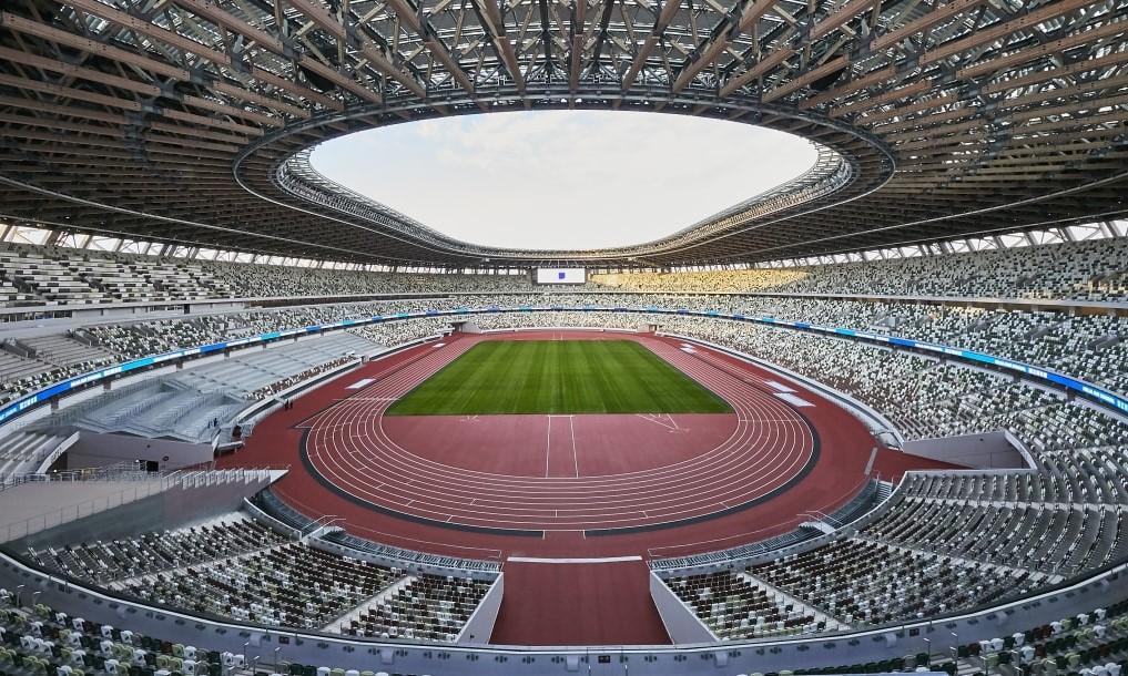 Sân Olympic Tokyo, nơi đăng cai lễ khai mạc Olympic 2021. Ảnh: Olympics.com.