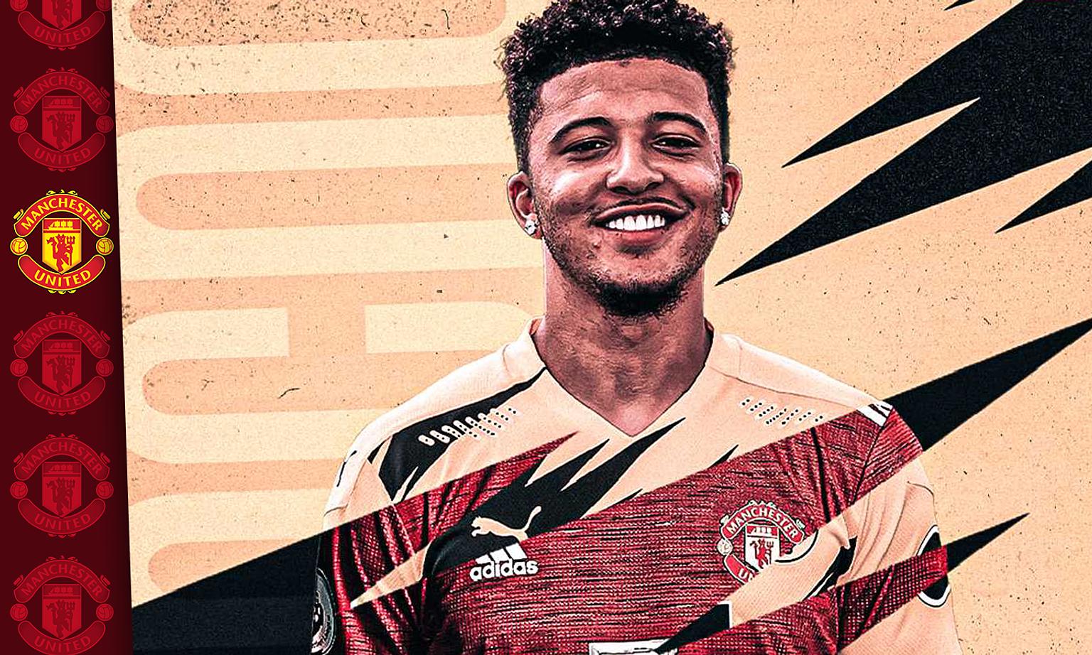Sancho diharapkan untuk mengangkat Man Utd, memuaskan dahaga klub untuk gelar.  Foto: Sky Sports