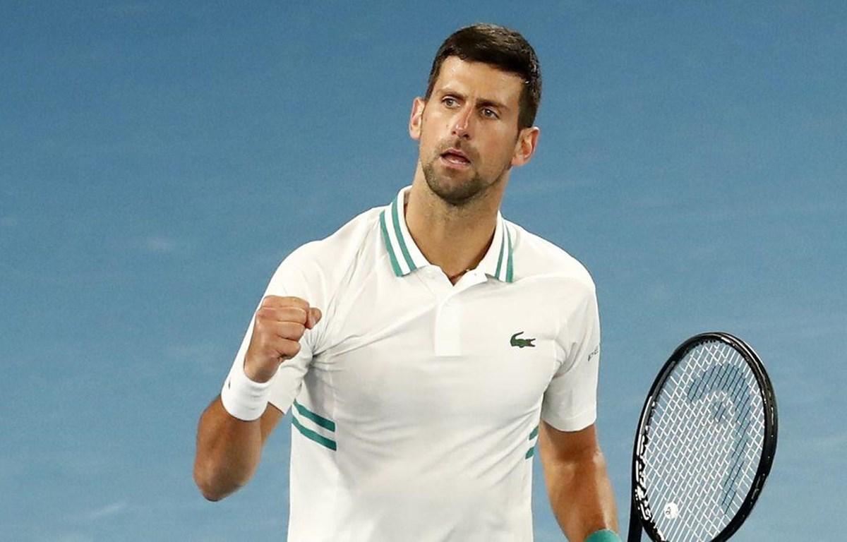 Djokovic memenangkan tiga Grand Slam pada paruh pertama musim 2021. Foto: Eurosport