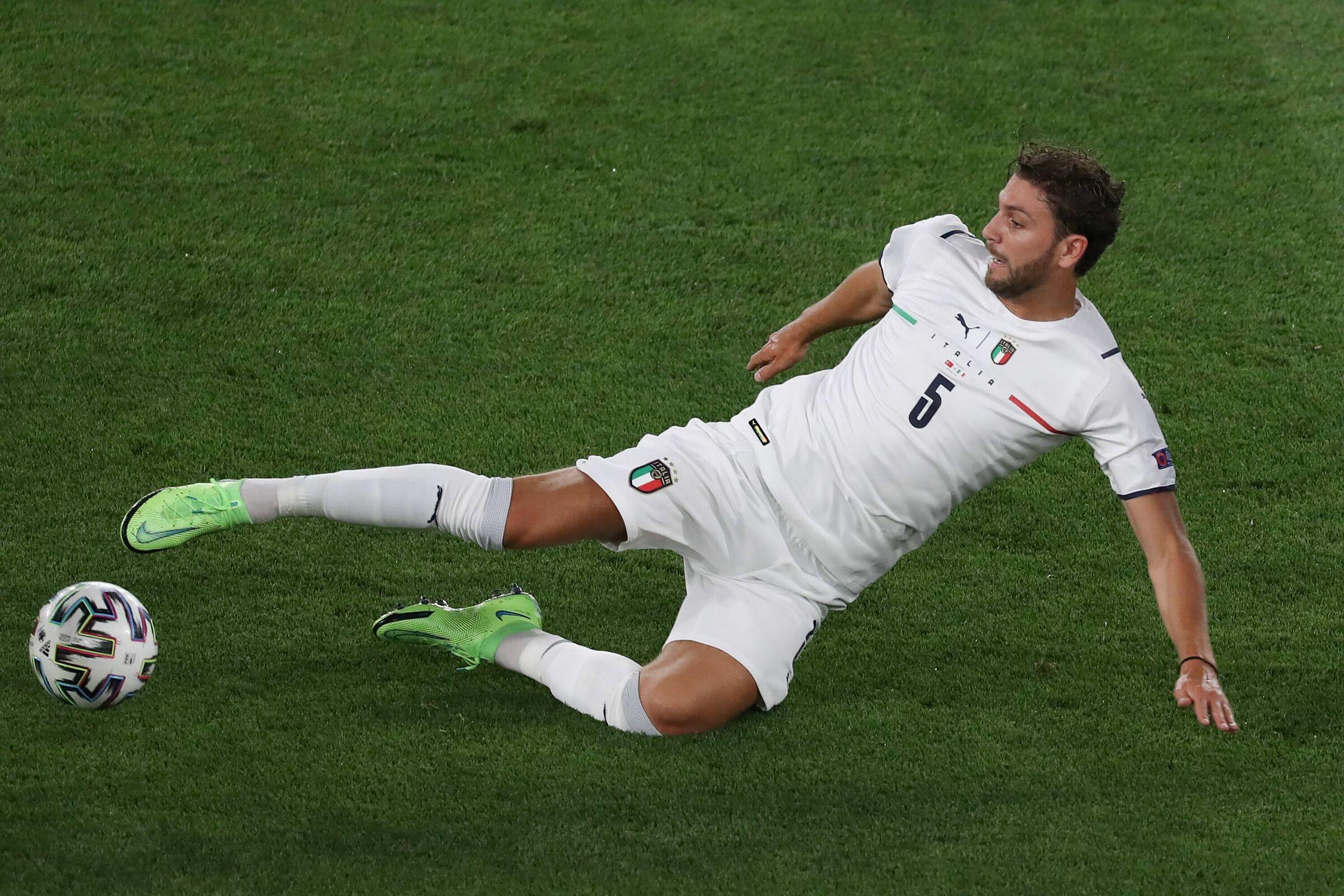Locatelli adalah penemuan tim Italia di Euro 2021. Foto: ANSA