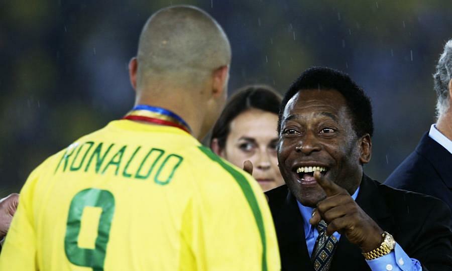 Pele coi Ronaldo Nazario là trung phong hay nhất lịch sử. Ảnh: Madridistareal