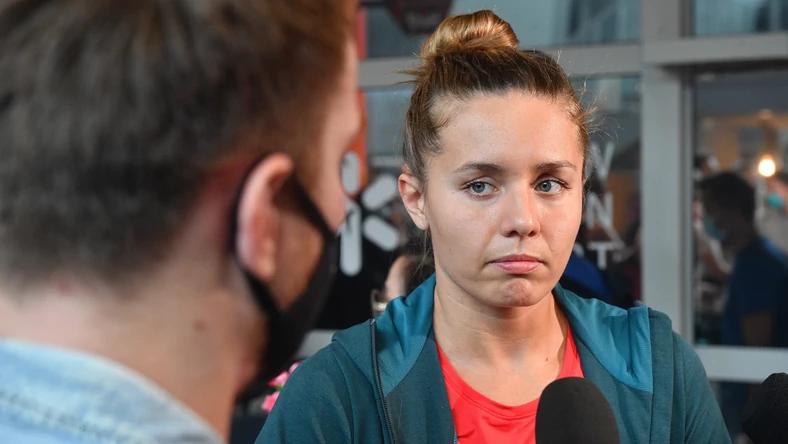 Alicja Tchorz từng giành hai huy chương bạc và một đồng nội dung bơi ngửa cá nhân và một huy chương vàng 4x50m hỗn hợp tiếp sức giải vô địch châu Âu. Ảnh: PAP.