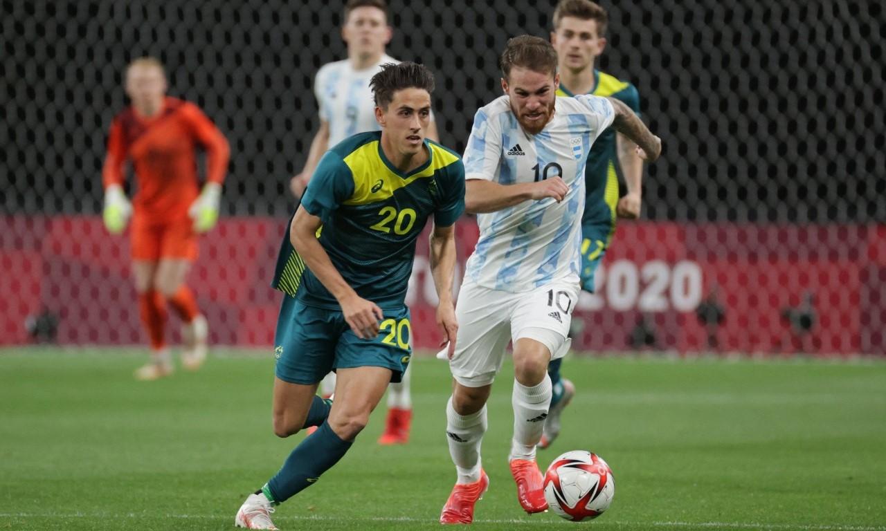 Olympic Australia mengoordinasikan dan mengorganisir skuad lebih baik dari Argentina.  Foto: AFP.