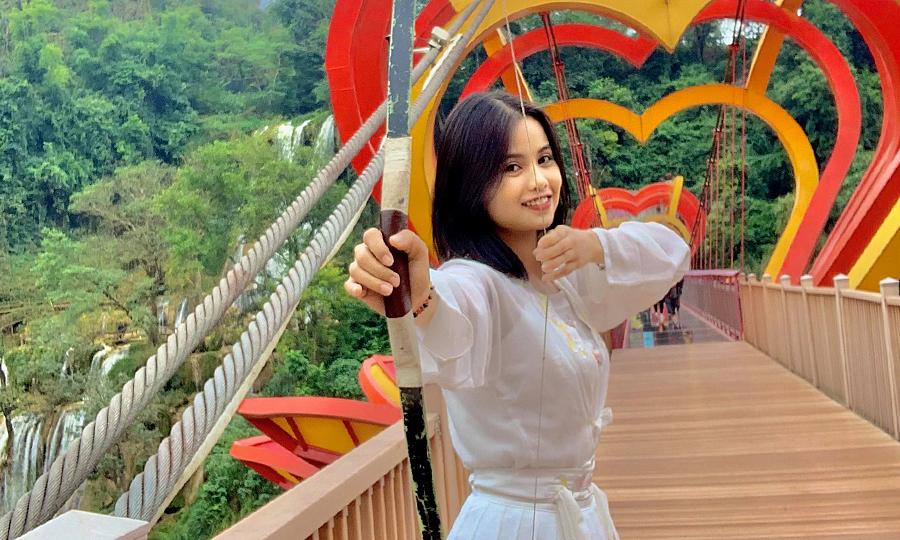 Ánh Nguyệt trẻ nhất đoàn, nhưng sẽ xuất quân cho Việt Nam ở Olympic Tokyo. Ảnh: FBNV