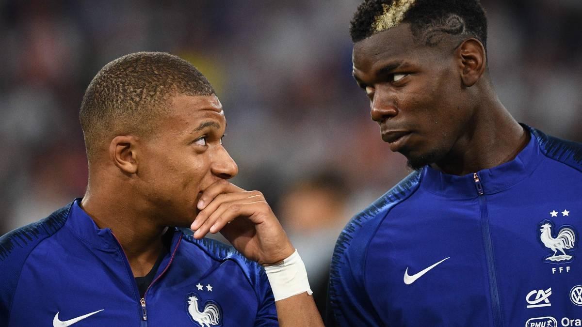 Nếu mua được Pogba, PSG vừa có thêm một ngôi sao đẳng cấp thế giới cho tuyến giữa, vừa có thêm lý do để thuyết phục Mbappe ở lại. Ảnh: AFP