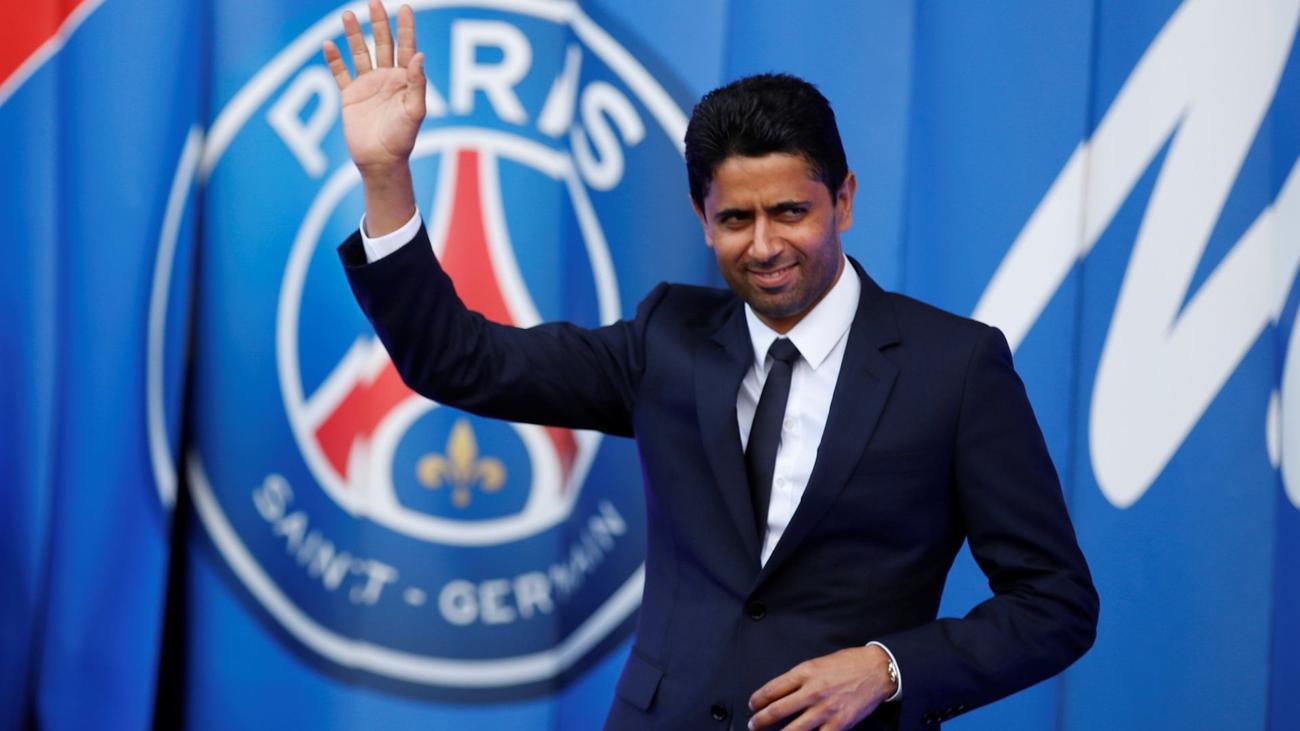 Nguồn lực tài chính của nhà nước Qatar, thông qua người đại diện Al-Khelaifi, giúp PSG sống thoải mái bất chấp khủng hoảng chung thời Covid-19. Ảnh: AFP