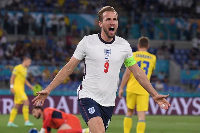 Kane ghi bốn bàn và vào chung kết tại Euro 2021. Ảnh: Reuters.