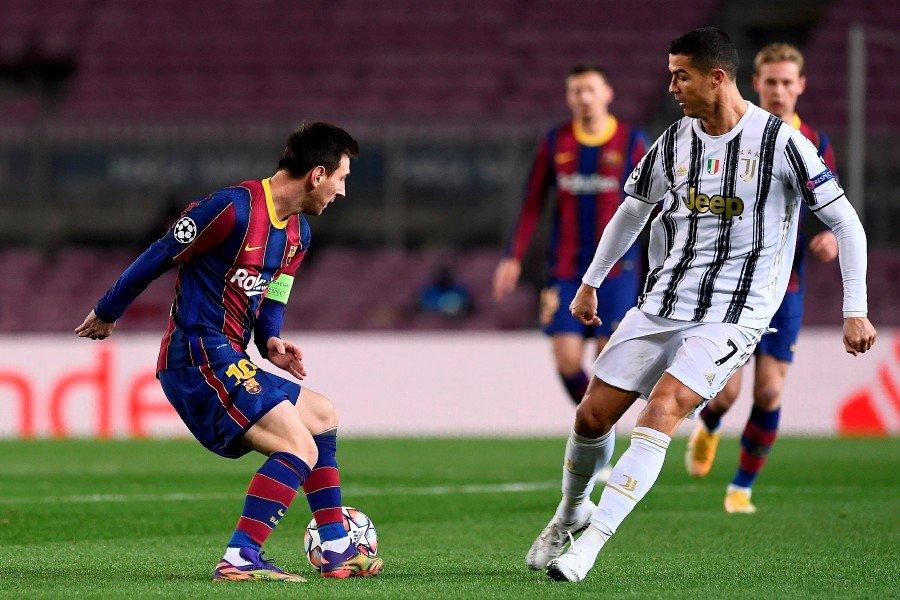 Ronaldo và Messi có cơ hội đối đầu kể từ tháng 12/2020. Ảnh: AFP
