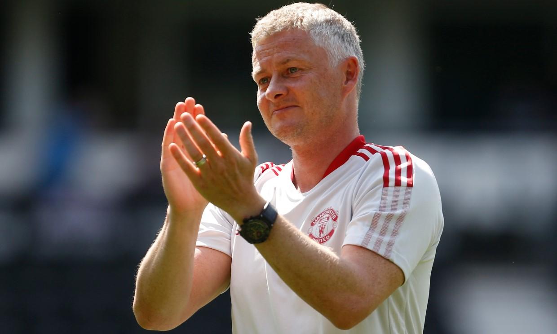 Man Utd tetap memercayai Solskjaer meski belum meraih gelar juara.  Foto: Reuters.