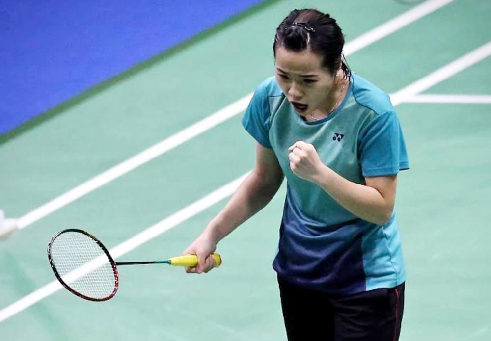 Nguyen Thuy Linh memenangkan pertandingan pertamanya di arena Olimpiade.