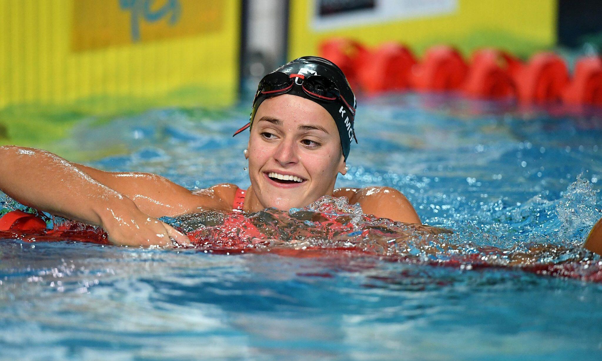 Trong hơn một tháng qua, kình ngư Australia 20 tuổi Kaylee McKeown lần lượt phá kỷ lục thế giới và Olympic. Ảnh: Swimming Australia