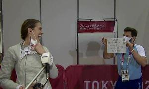 HLV cầu hôn kiếm thủ Argentina tại Olympic
