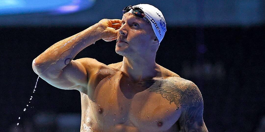 Dressel telah memiliki tiga medali emas Olimpiade dalam karirnya, termasuk dua di Olimpiade Rio 2016. Foto: NBC