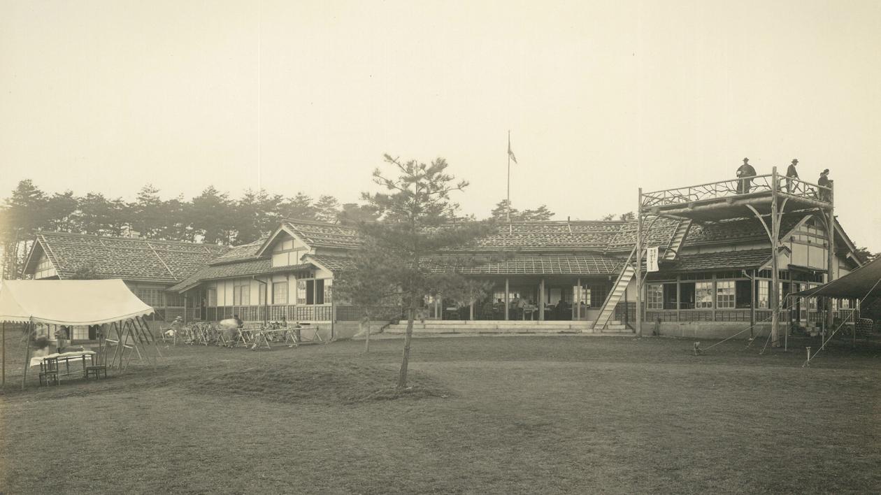 Kasumigaseki East Courtyard inaugurated in October 1929.  Photo: kasumigasekicc