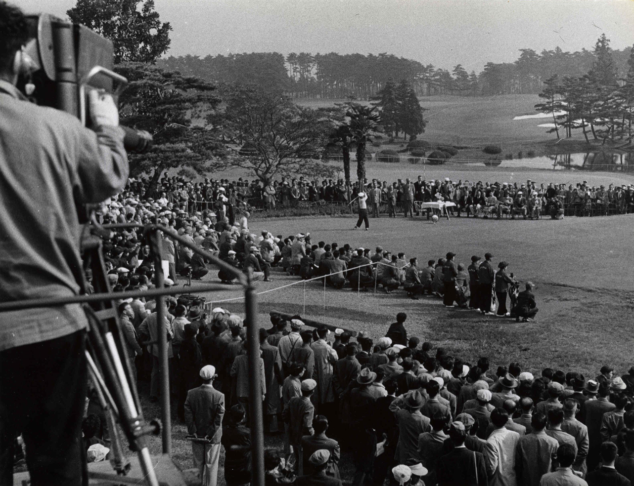 The 1957 Canada Cup was the first major golf event held on the Kasumigaseki course.  Photo: kasumigasekicc