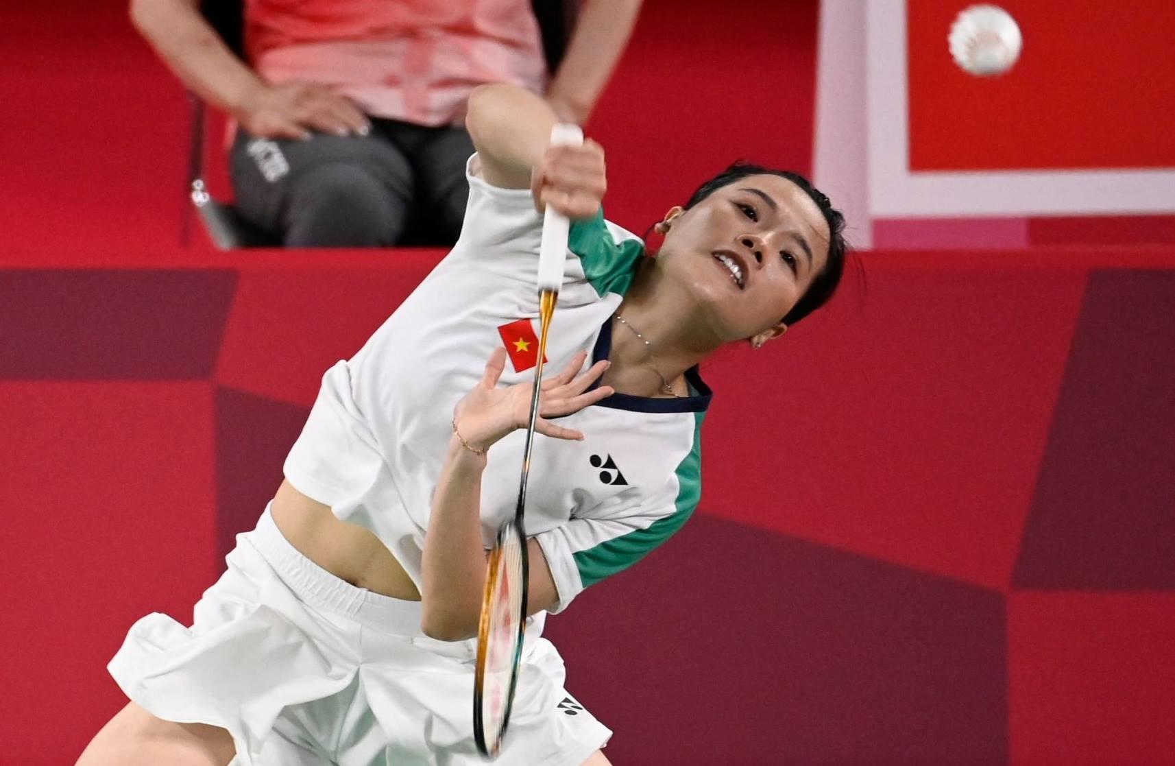 Thuy Linh membuka pertandingan untuk Vietnam pada 28 Juli.