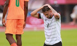 Đức bị loại tại môn bóng đá nam Olympic