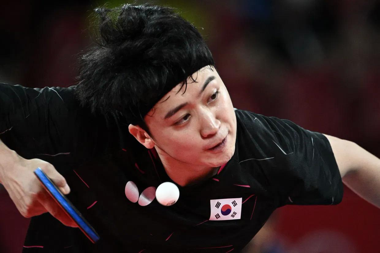 Jeoung trong trận thắng Gionis hôm 27/7. Ảnh: AFP